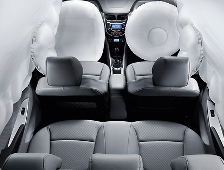 SUPER SAFETY 6 AIRBAGS