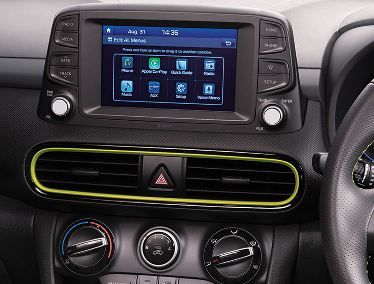 INFOTAINMENT SYSTEM WITH CARPLAY